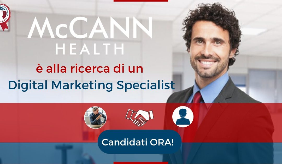 Digital Marketing Specialist - Milano - McCann Health