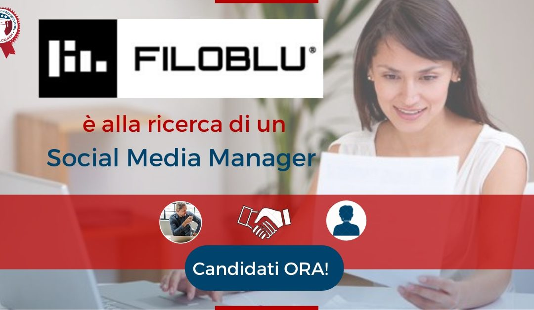 Social Media Manager - Veneto - FiloBlu
