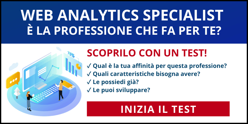 test web analytics specialist