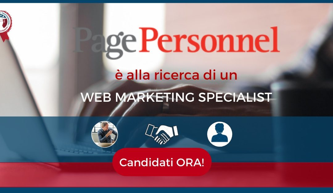 Web Marketing Specialist - Pistoia - Page Personnel