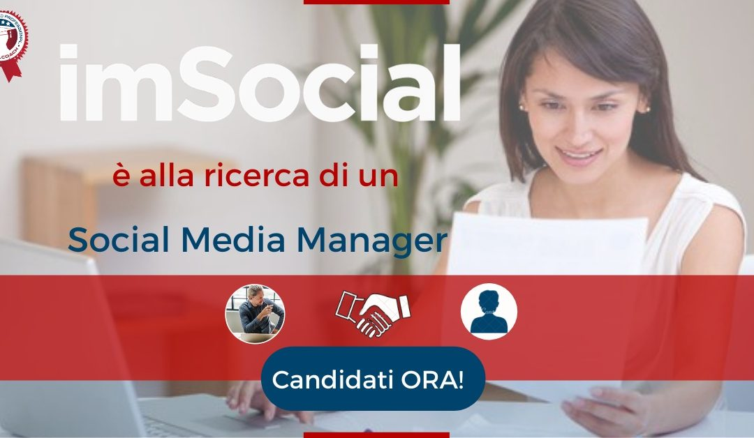 ocial Media Manager - Milano - imSocial