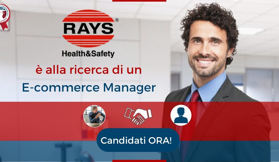 E-commerce Manager - Osimo - Rays