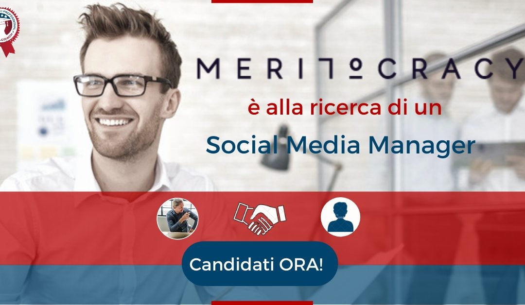 Social Media Manager - Bologna - Meritocracy.is