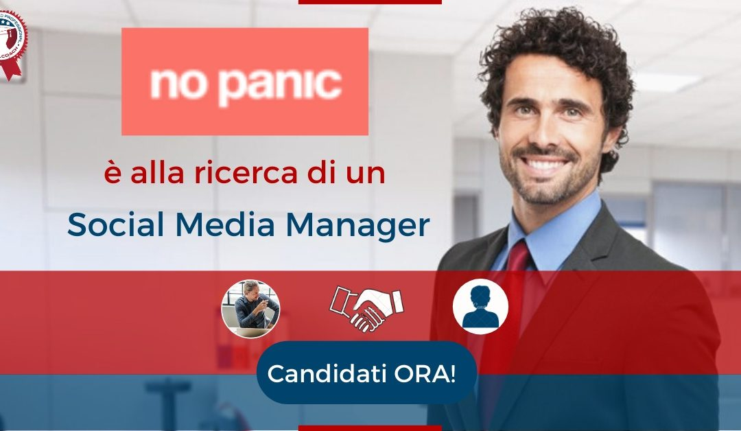 Social Media Manager - Torino - No Panic Agency