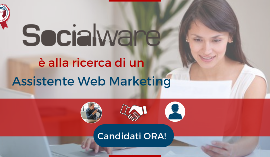 Assistente Web Marketing - Acquaviva delle Fonti - Socialware