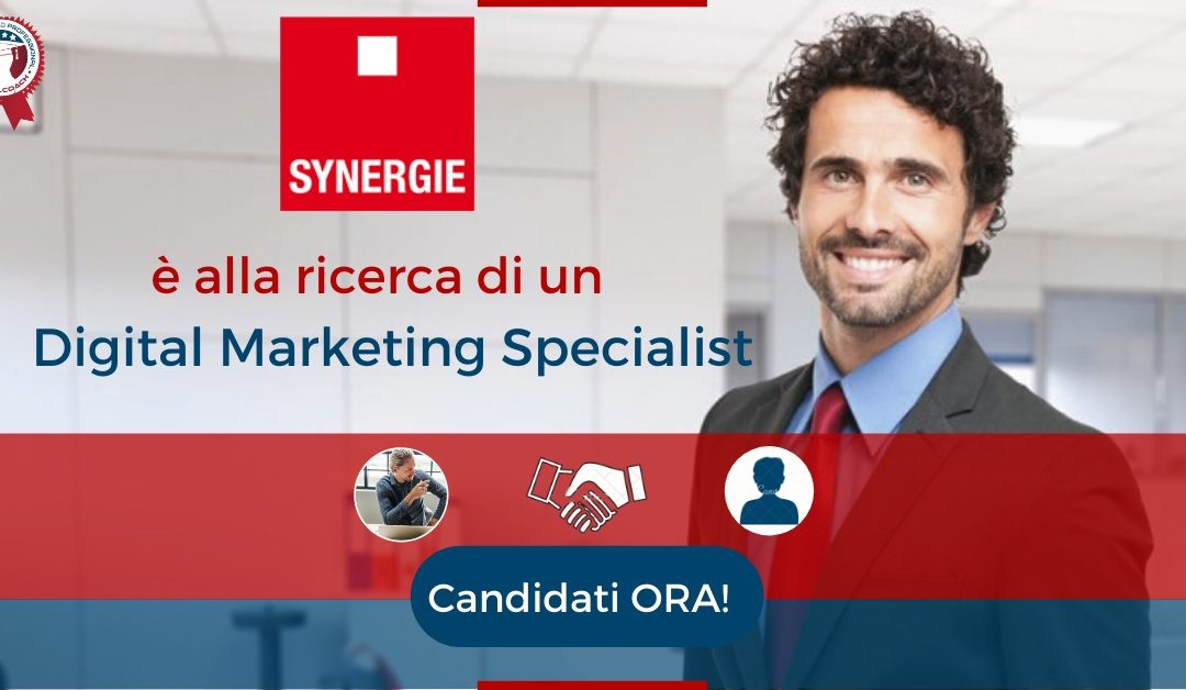 Digital Marketing Specialist - Biella - Synergie Italia
