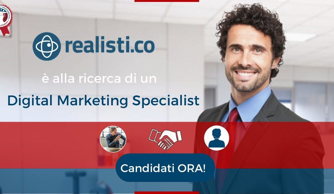 Digital Marketing Specialist - San Maurizio Canavese - Realisti.co