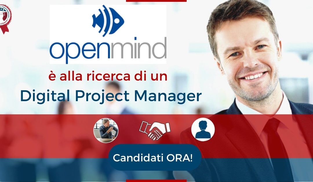 Digital Project Manager - Monza - Openmind