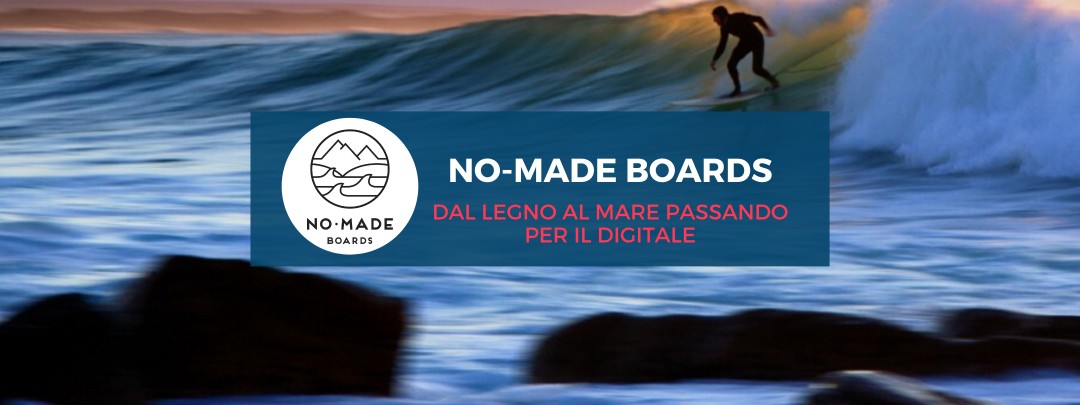 No-Made Boards, dal legno al mare passando per il digitale