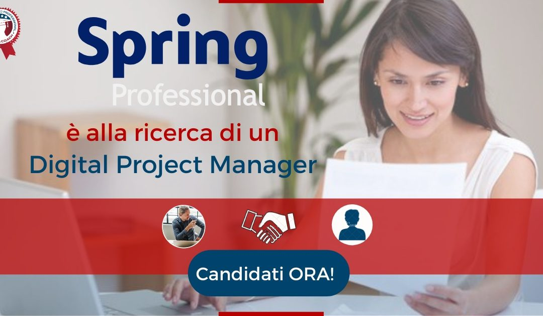 Digital Project Manager - Bologna - Spring Professional