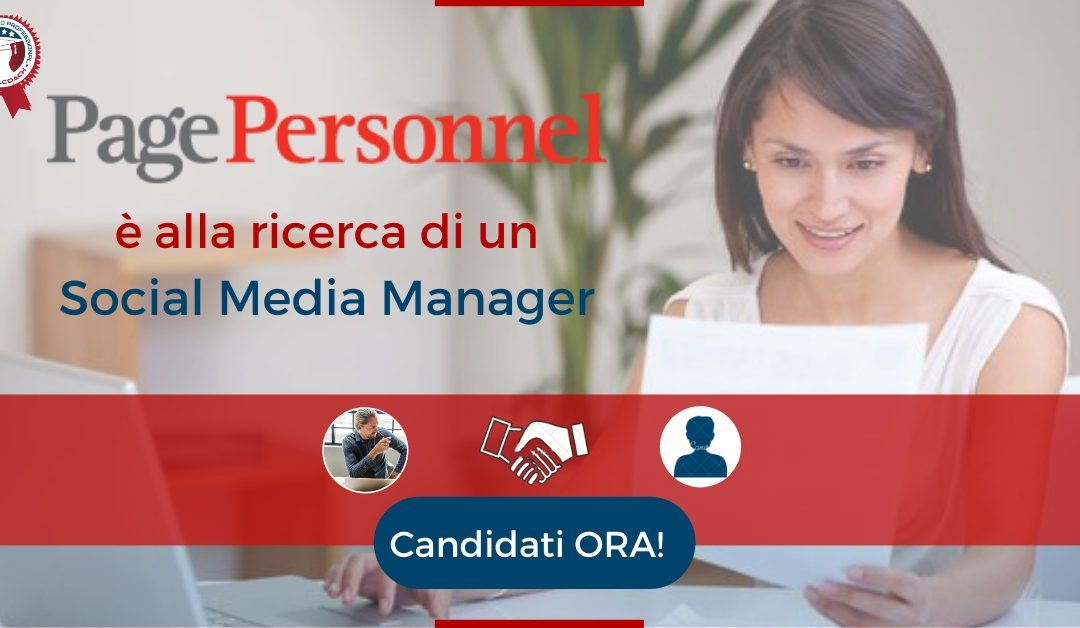 Social Media Manager - Milano - Page Personnel