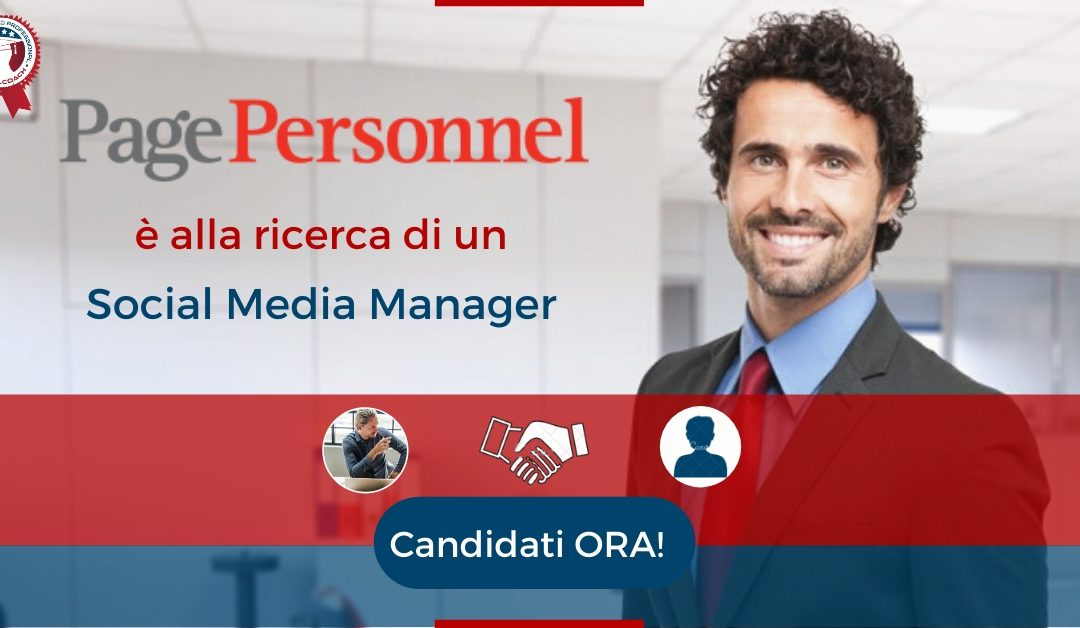 Social Media Manager - Varese - Page Personnel