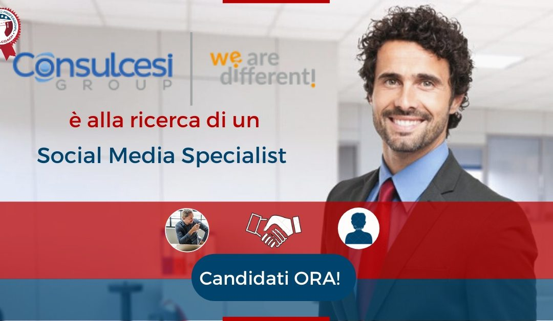 Social Media Specialist - Roma - Consulcesi Group