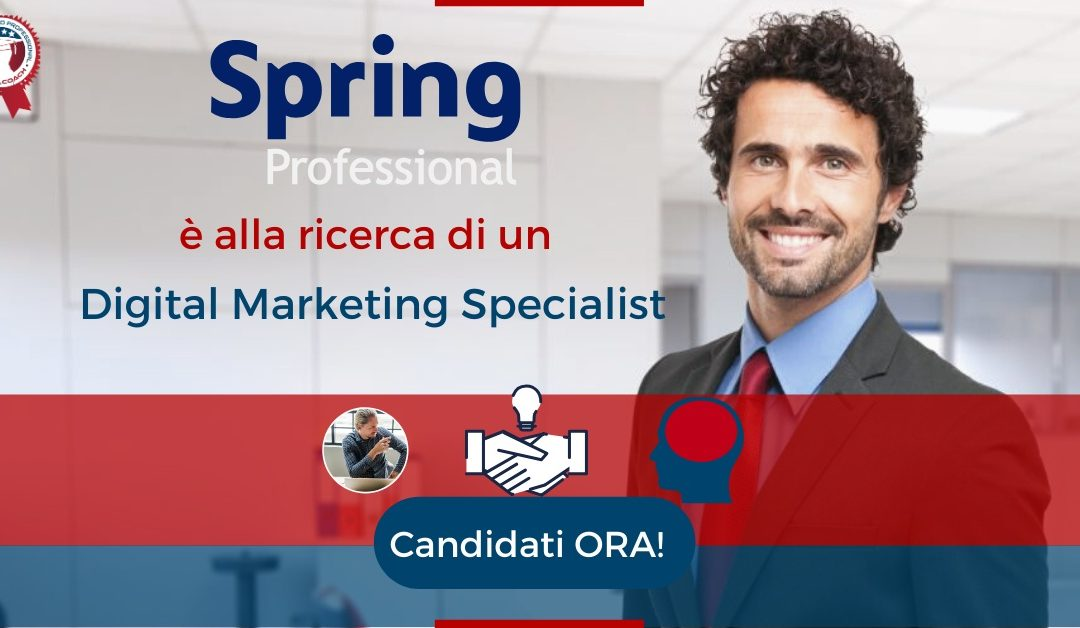 Digital Marketing Specialist - Padova - Spring Professional