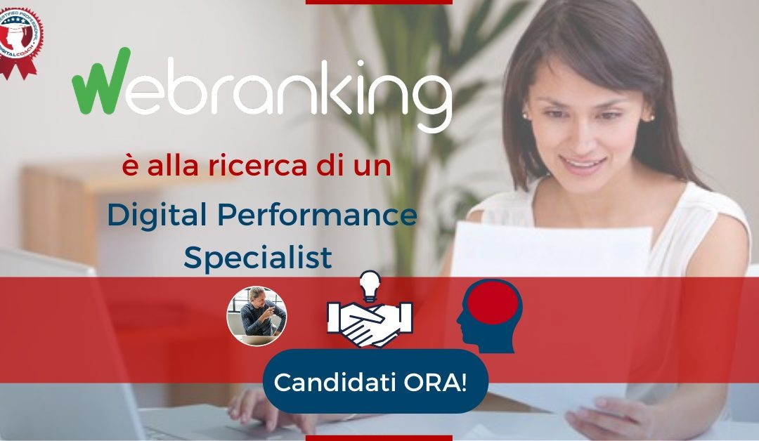 Digital Performance Specialist - Milano - Webranking