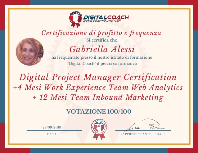 Certificazione-Digital Project Manager