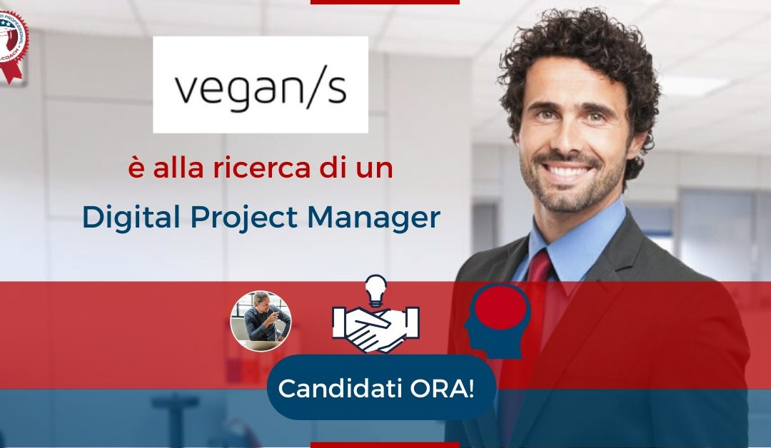 Digital Project Manager - Lesmo - Vegan Solutions