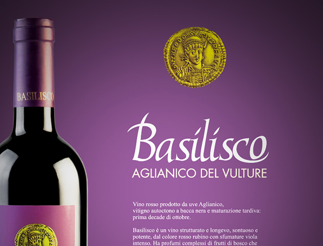 Basilisco Vini | Graphic & Web design