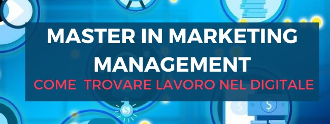 Master in marketing management - cover