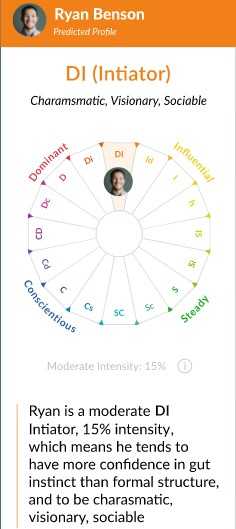 example personality test crystal
