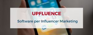 upfluence piattaforma saas influencer marketing